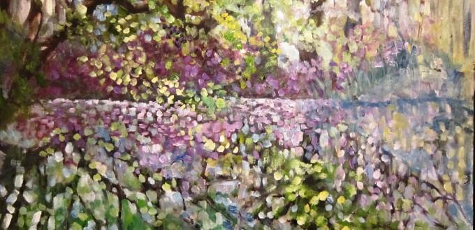 Mid Summer painted Plein Air