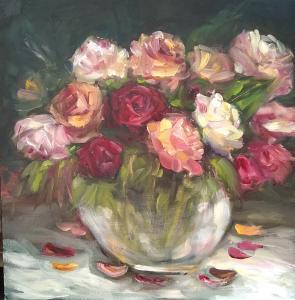 Heaven Scent roses