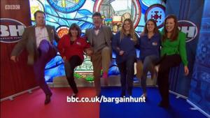 Bargain Hunt the kick