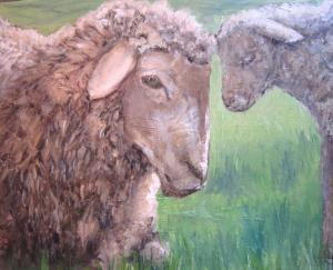 Spring is in the airOriginal Oil painting by Susan Farrington£125