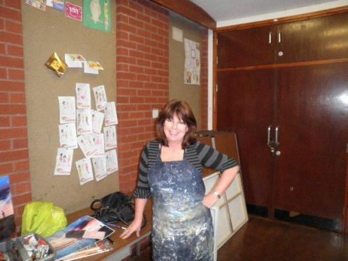 Susan Farrington at Caldy Valley