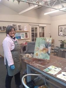 Tushi at Okell's Garden Centre Studio
